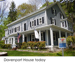 The Davenport House Today