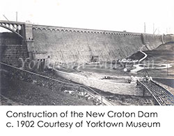 Construction of the New Croton Dam c. 1902