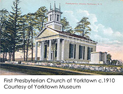 The First Presbyterian Church of Yorktown c. 1910